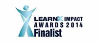 LearnX Impact Awards 2014 - Platinum Winner Award